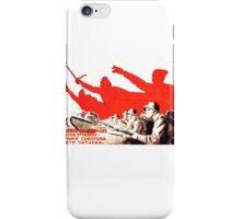 USSR Propaganda - Attack iPhone Case/Skin