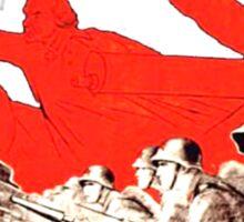 USSR Propaganda - Attack Sticker
