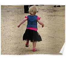 running back to Mum  Poster
