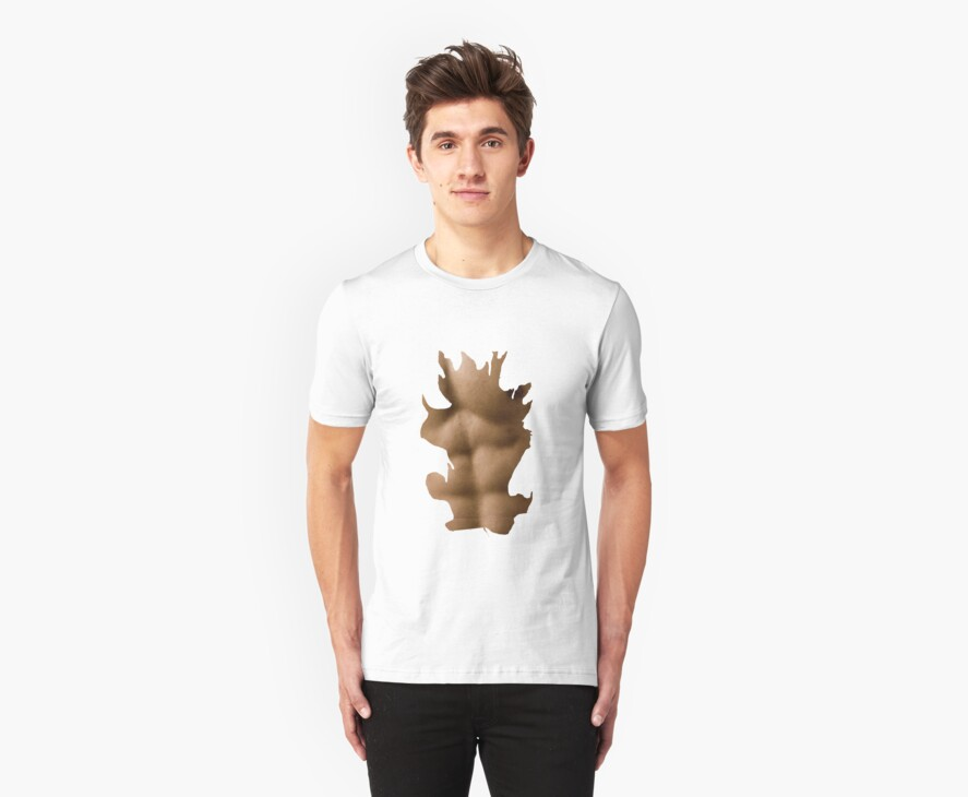 Six Pack Abs Shirt. (Male) by Jake  Boehm