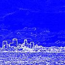 Minneapolis Skyline Over Lake Calhoun by Evan Johnson