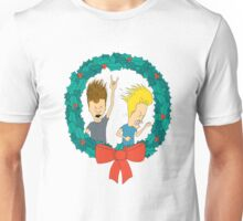 beavis and butthead christmas Unisex T-Shirt
