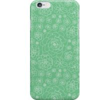 Succulents - Repeating Pattern iPhone Case/Skin