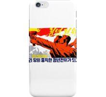 North Korean Propaganda - The Torch iPhone Case/Skin