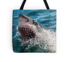 Great White Shark (Carcharodon carcharias) Tote Bag