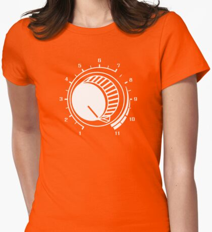 Volume - Turn it Up Womens Fitted T-Shirt