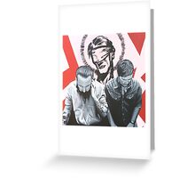A Love from outer space volume 1 Greeting Card