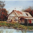 Old Shed by TeriAbb