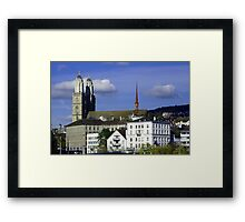 The Wonder of Zurich Framed Print