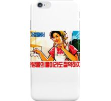 North Korean Propaganda - Plumbing iPhone Case/Skin