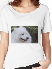 white Samoyed Women's Relaxed Fit T-Shirt