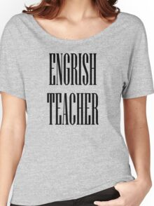 Engrish black Women's Relaxed Fit T-Shirt