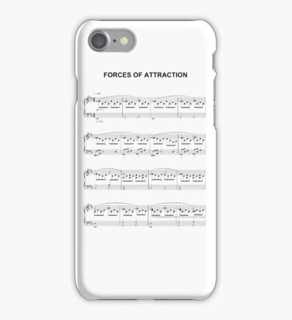 Forces of Attraction iPhone Case/Skin