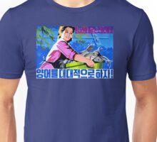 North Korean Propaganda - Fish Unisex T-Shirt