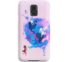 Bubble Earth Samsung Galaxy Case/Skin