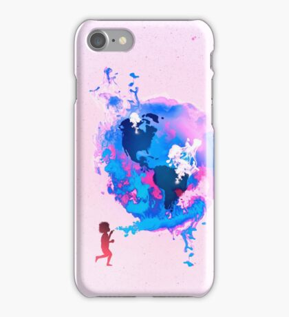 Bubble Earth iPhone Case/Skin