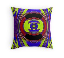 Color Me Blue Throw Pillow