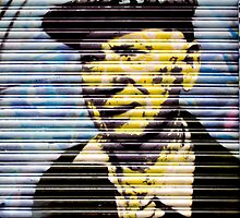 Flat cap, Graffiti around Melbourne by Elana Bailey