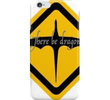 There be dragons 2 iPhone Case/Skin