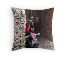 stuck up Throw Pillow
