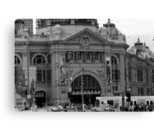 flinders st station Canvas Print