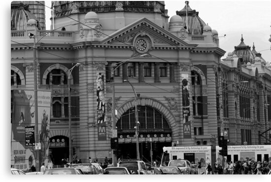 flinders st station by fazza
