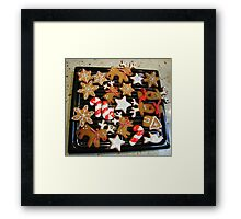Geating ready  for christmas Framed Print