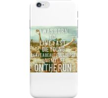 Lana Driving in Cars with boys  iPhone Case/Skin
