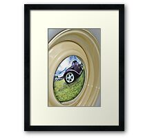 Rod Reflection In HDR Framed Print