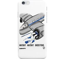 A Plane Accident. iPhone Case/Skin