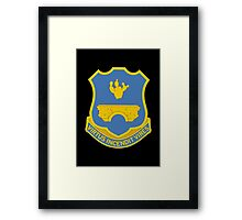 120th Infantry Regiment (United States) Framed Print
