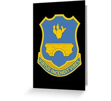 120th Infantry Regiment (United States) Greeting Card