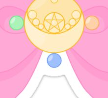 Pastel Sailor Moon Crystal Brooch and Bow Sticker