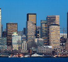 Seattle Oceanfront by Inge Johnsson