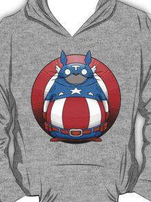 Captain America Totoro T-Shirt