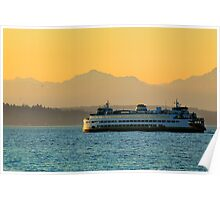 Olympic Ferry Poster
