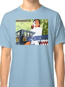 North Korean Propaganda - Beer and Eggs Classic T-Shirt