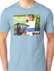 North Korean Propaganda - Beer and Eggs Unisex T-Shirt
