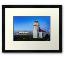 Mukilteo Ferry Framed Print