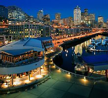 Seattle Waterfront by Inge Johnsson