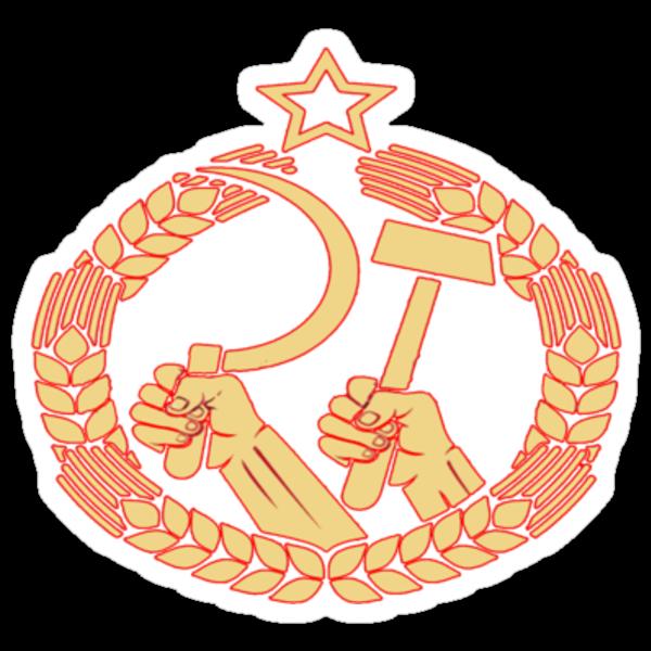 USSR Propaganda - Badge by Tim Topping