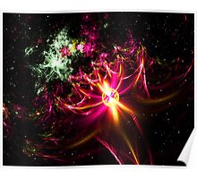 Explosion of Color Poster