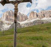 jesus altar on the mountain by spetenfia