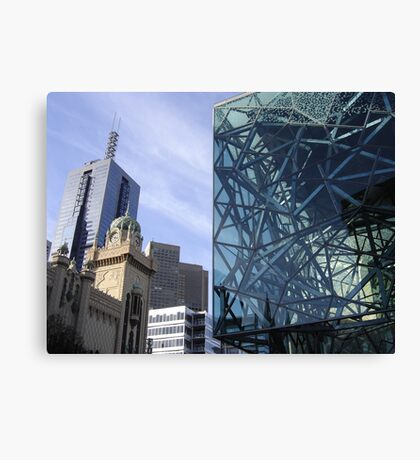 Flinders Streetscape Canvas Print
