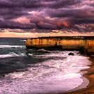 Sunrise on the Great Ocean Road, Victoria by Elana Bailey