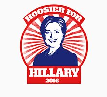 Hoosier for Hillary Clinton 2016 Womens Fitted T-Shirt
