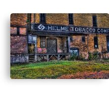 Helme Tobacco Canvas Print