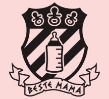 Beste Mama - Crest One Piece - Short Sleeve