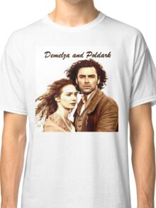 Demelza and Poldark in Cornwall Classic T-Shirt