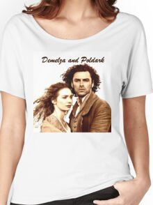 Demelza and Poldark in Cornwall Women's Relaxed Fit T-Shirt